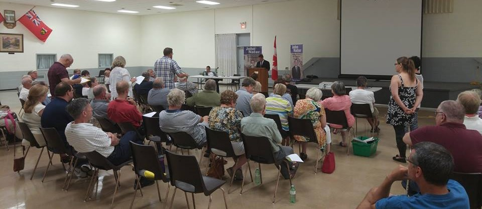 Constituents share their ideas and express their views on electoral reform.