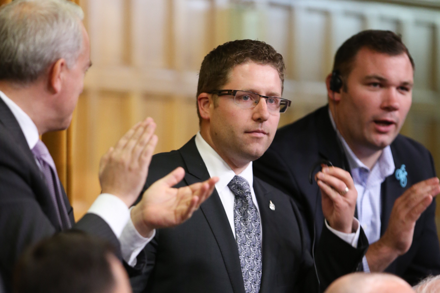 MP Nater in Question Period