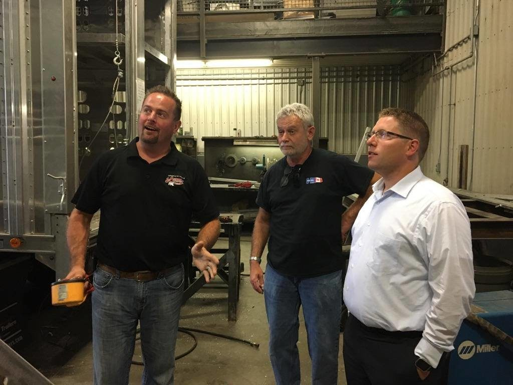 Small Business Tour in Perth South
