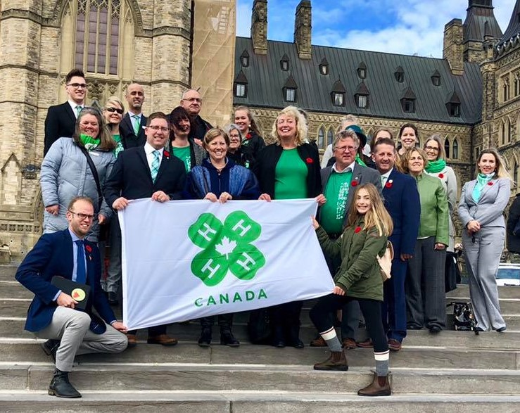 Parliamentarians Recognizing 4H Day on the Hill